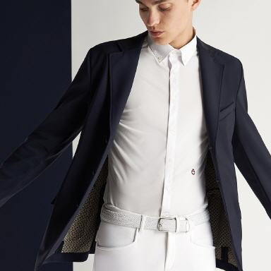 CAV. TOSCANA Reithose KNEE-HI PERFORATED (PAD127)