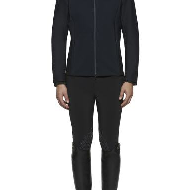 CAV. TOSCANA Reitjacket TECH KNIT ZIP (GGD023)