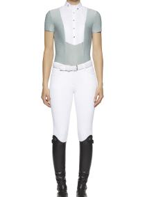 CAV. TOSCANA Reitshirt LASER PERFORATED  (CAD160)